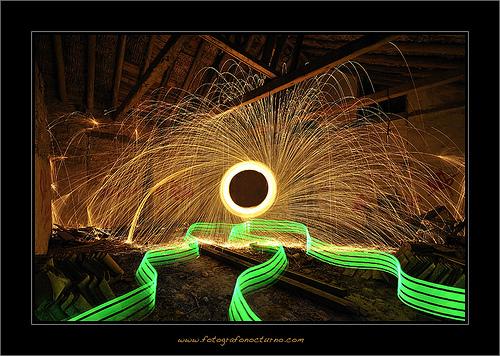 Araña de fuego