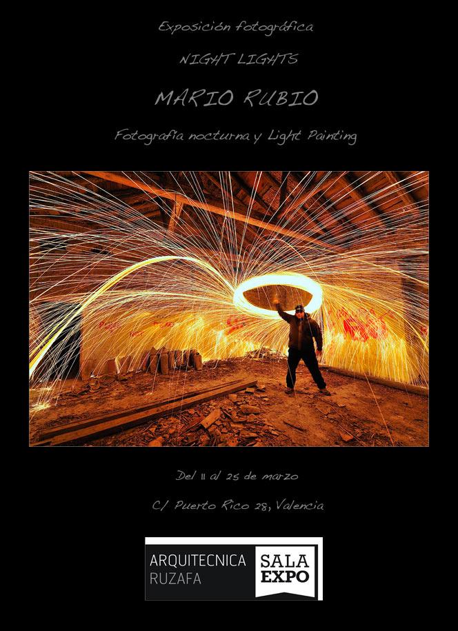 Exposición Night Lights en Valencia. 11 al 25 de marzo 1