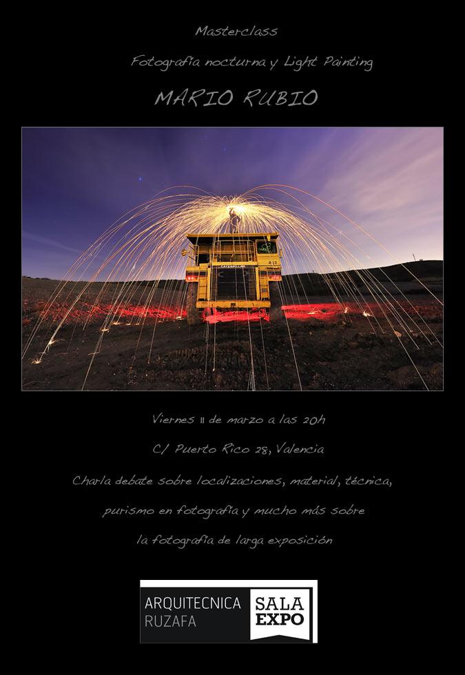 Masterclass en Valencia. 11 de marzo a las 20h 1