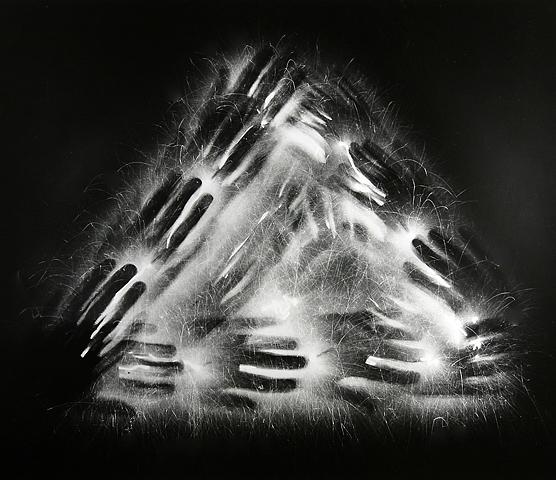 The Light of Democracy #2 1990 by Light Painting Artist Jozef Sedlák