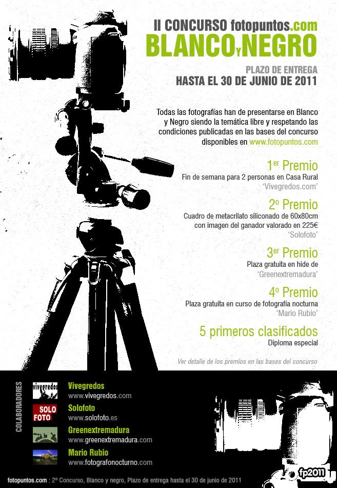 II Concurso de Fotografía en Blanco y Negro 2011 1