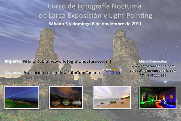 Curso de fotografía nocturna en Gran Canaria 5-6 de noviembre 1