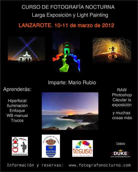 Lanzarote. 10-11 de marzo. 1