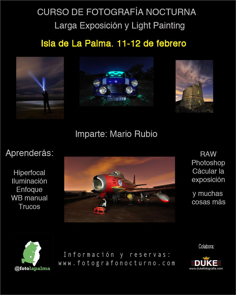 Completo: La Palma 11-12 de febrero. Lista de espera abierta 1