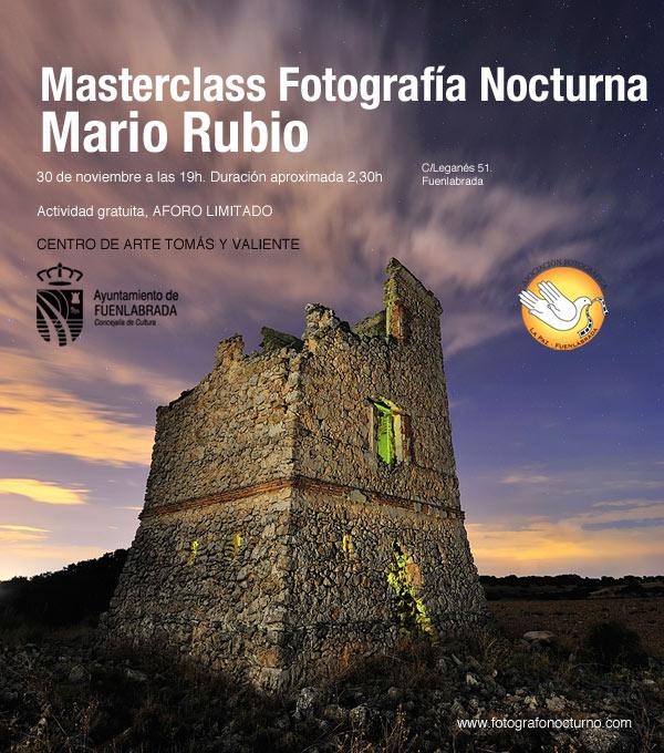 Masterclass en Fuenlabrada. 30 de noviembre 1