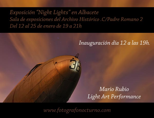 """Exposición """"Night Lights"""" en Albacete del 12 al 25 de enero 1"""