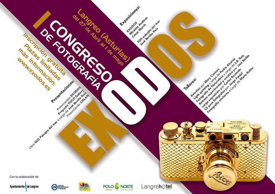 Congreso de fotografía en Asturias el 30 de abril 1