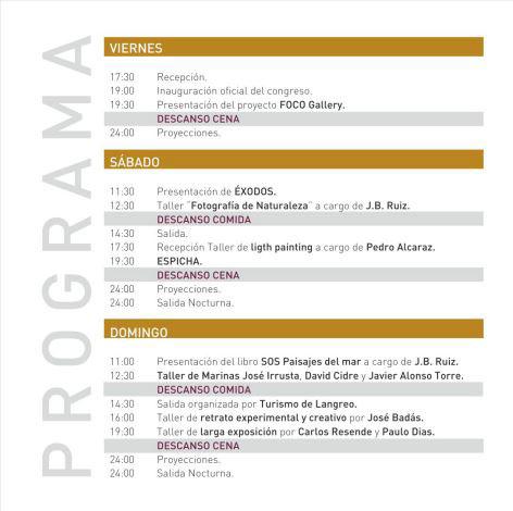 Congreso de fotografía en Asturias el 30 de abril 2