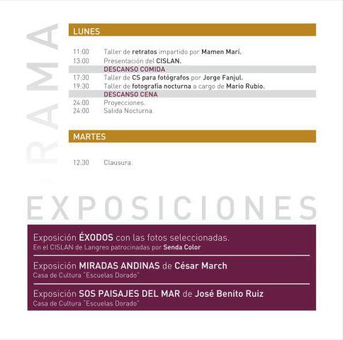Congreso de fotografía en Asturias el 30 de abril 3