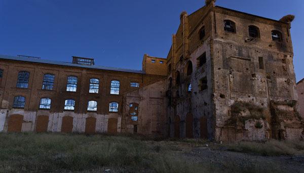 Las noches de Zaragoza con la escuela Diaporama 5