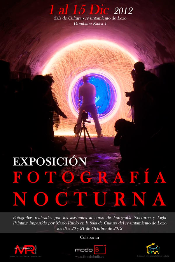 Exposición de Fotografía Nocturna en Lezo, San Sebastián. 1