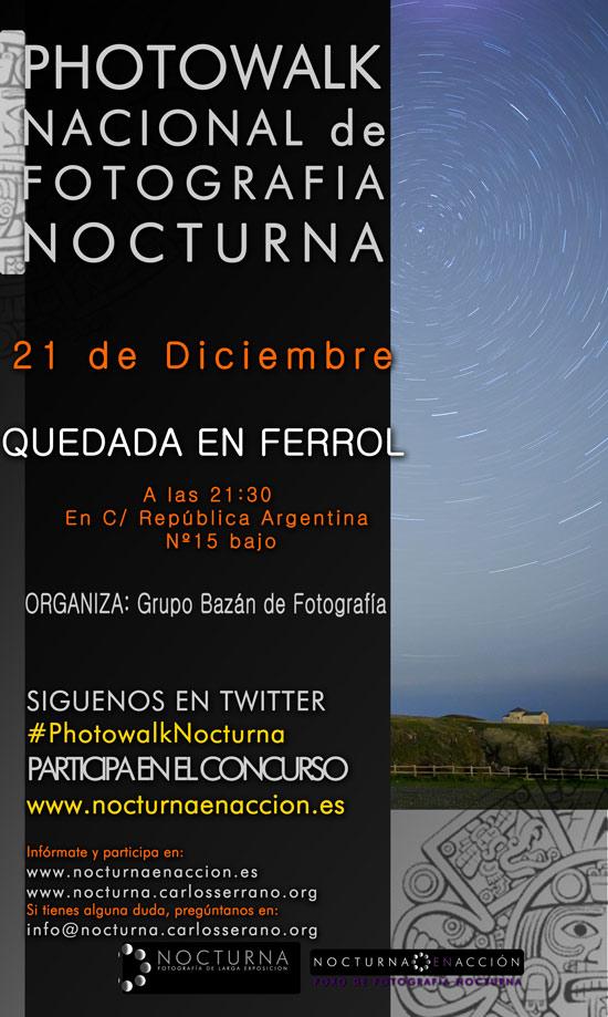 Photowalk nocturno en Madrid el 21 de diciembre 12