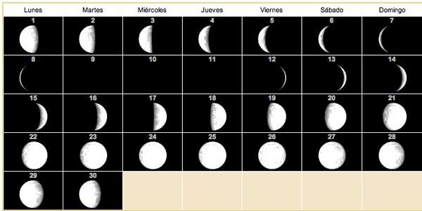 Calendario lunar para 2013 5