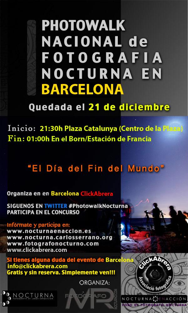 Photowalk nocturno en Madrid el 21 de diciembre 13