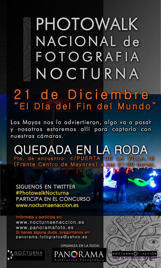 Photowalk nocturno en Madrid el 21 de diciembre 14