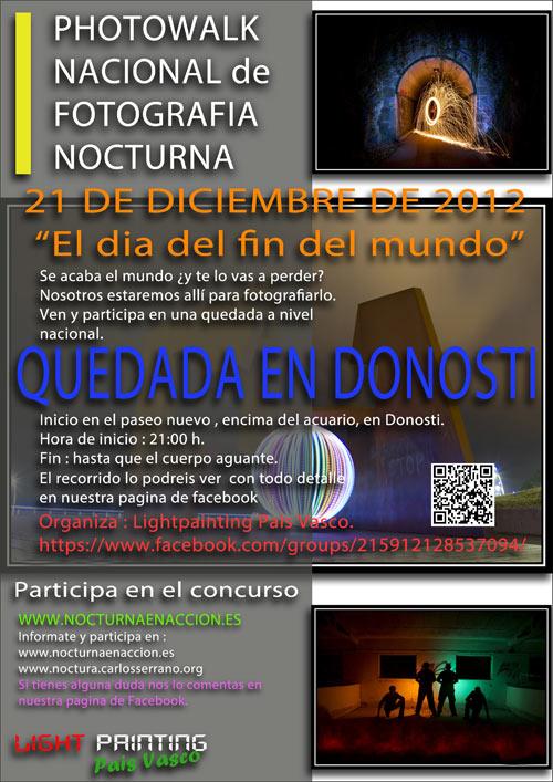Photowalk nocturno en Madrid el 21 de diciembre 10