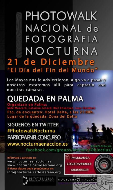 Photowalk nocturno en Madrid el 21 de diciembre 15