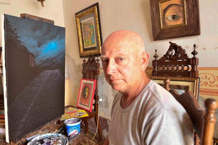 Pintor nocturno cubano. D. Carlos Mata 1