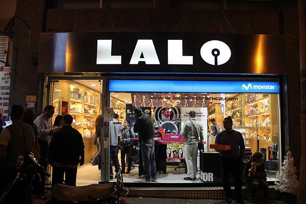 LALO ELECTRÓNICA. Patrocinador de la Masterclass 26/I/2013 1