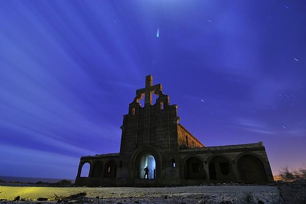 De nocturnas por la leprosería de Abades en Tenerife 11