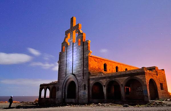 De nocturnas por la leprosería de Abades en Tenerife 2
