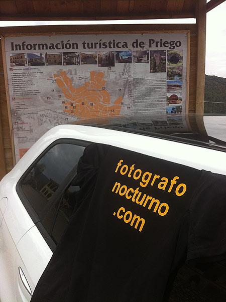 Pedro J. Gómez en la carrera de montaña de Priego (Cuenca) 2