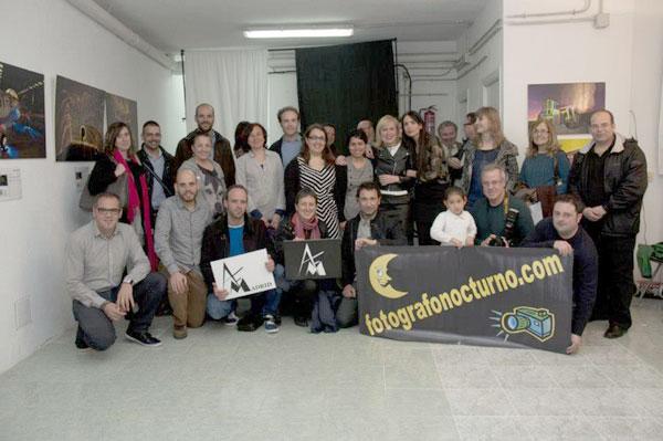 AFM Asociación Fotográfica de Madrid y Mario Rubio inauguran local y expo 1