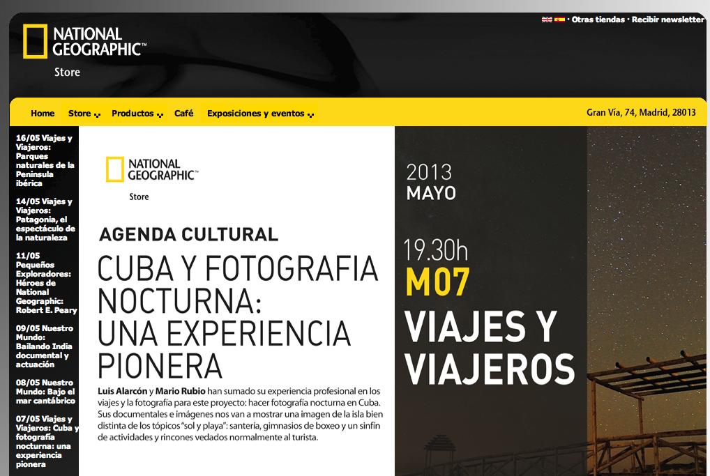 National Geographic presenta el viaje a Cuba 2