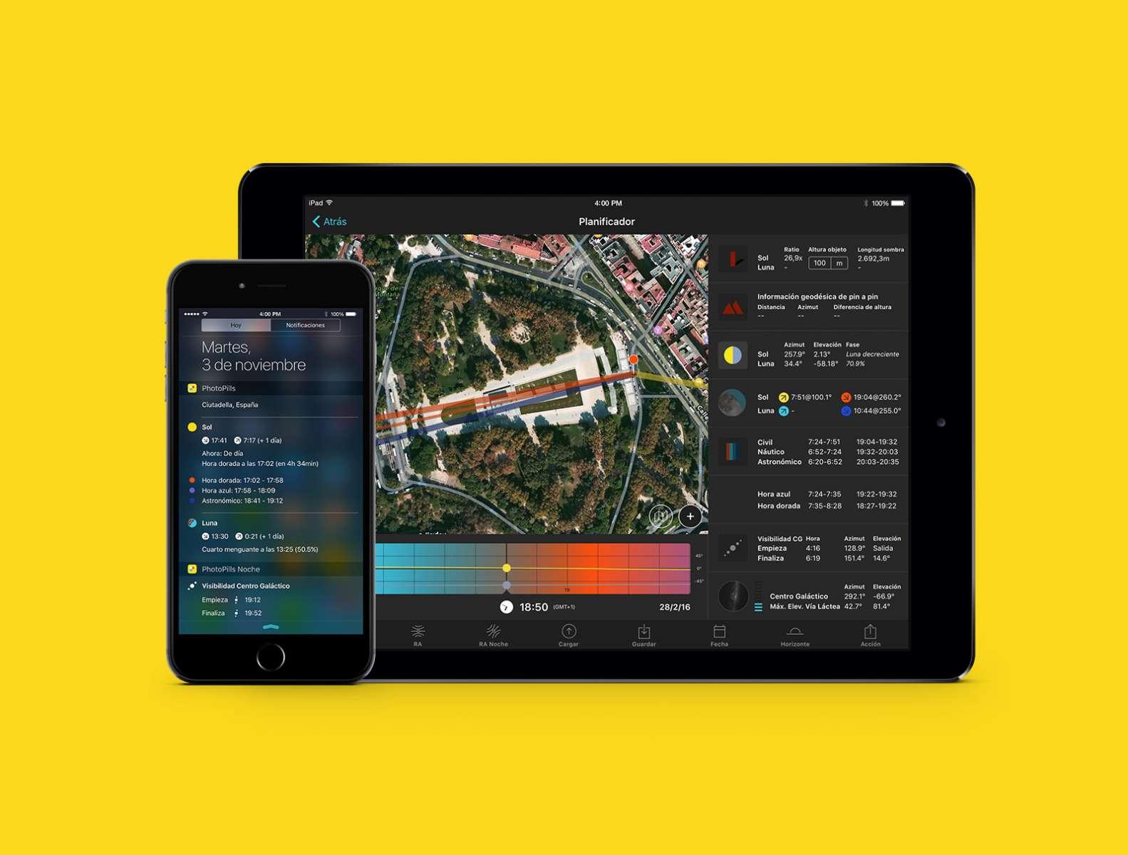 Composición - Planificador y Widgets