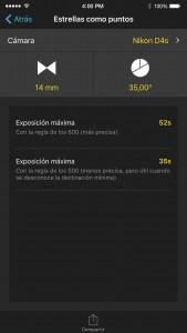 Photopills una app para fotógrafos con IOS 2