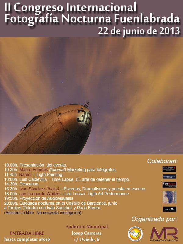 II Congreso de Fotografía Nocturna en Fuenlabrada Madrid 1
