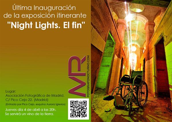 Exposición Night Lights. El fin. 1