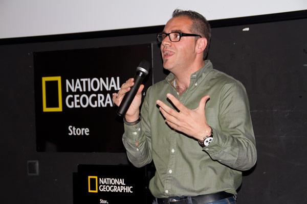 Presentación en National Geographic Store de Madrid 1