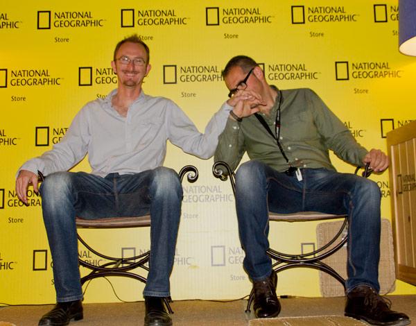 Presentación en National Geographic Store de Madrid 2
