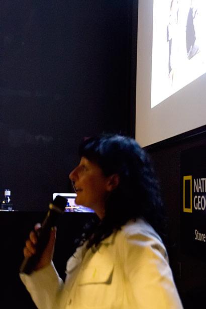 Presentación en National Geographic Store de Madrid 5