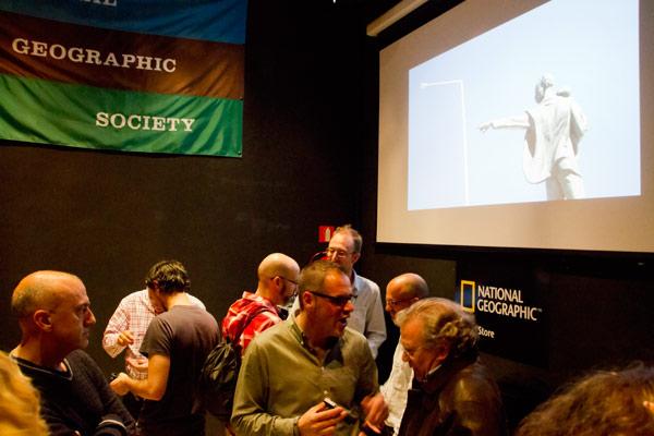 Presentación en National Geographic Store de Madrid 3