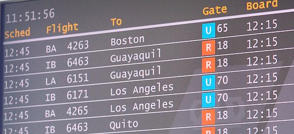 Día 1 de mi viaje a USA. Viajamos Madrid-Los Ángeles 2