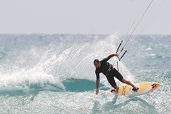 Una de Kite-Surf como off topic del verano 2