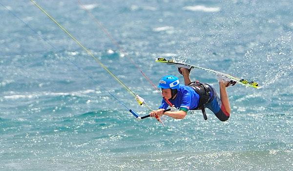 Una de Kite-Surf como off topic del verano 1