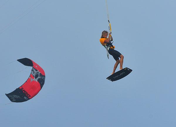 Una de Kite-Surf como off topic del verano 13