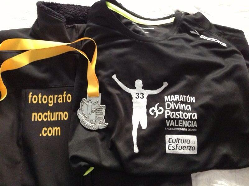 Así fue el Maratón de Valencia 2013 para nuestro líder 1