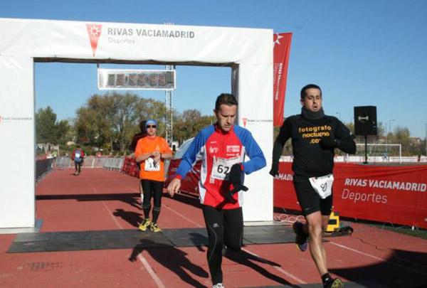 Ismael Manzanares, a muy buen ritmo en Rivas Vaciamadrid 6