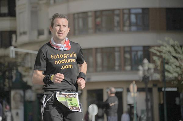 Así fue el Maratón de Valencia 2013 para nuestro líder 3