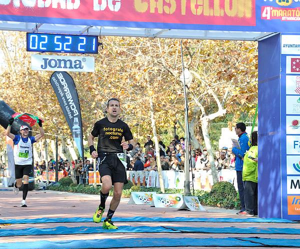 Pedro J. Gómez nos cuenta su maratón de Castellón 7