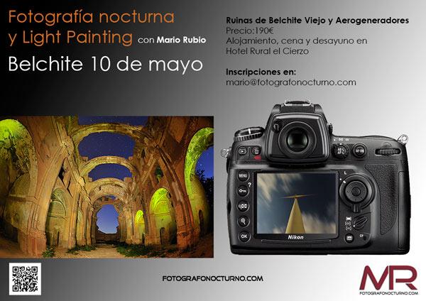 Curso en Belchite el 10 de mayo 1