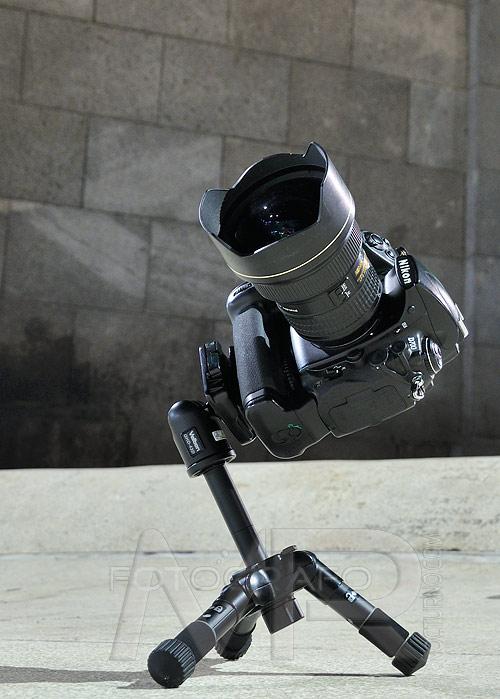 Review Velbon QHD-43D el pequeño gran trípode 2