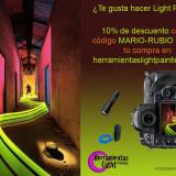 Herramientas Light Painting para fotografía nocturna