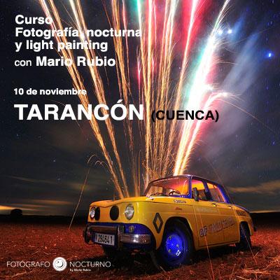 Curso de fotografía nocturna en Tarancón (Cuenca) 5