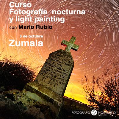 Curso de fotografía nocturna en Zumaia por Mario Rubio 6