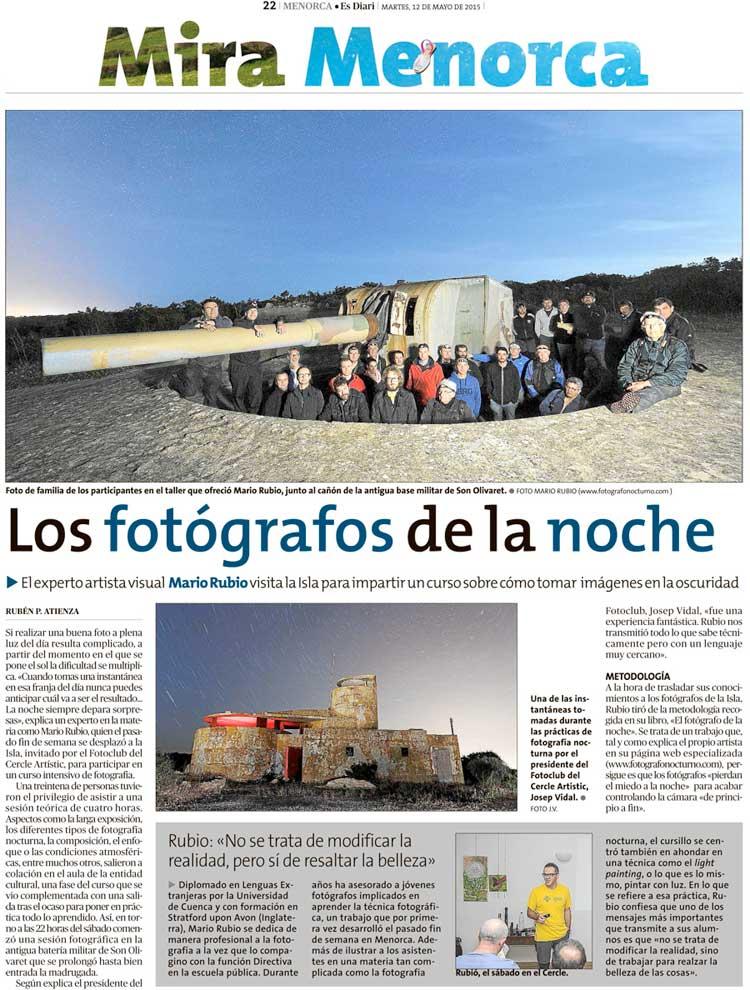 : Mira Menorca : Página 1